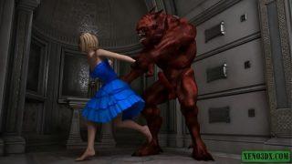 Demonic Possessions. 3D Monster Sex