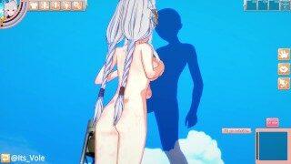 Koikatu Hentai Gameplay – High School DxD – Grayfia Lucifuge